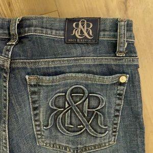 Rock & Republic Kasandra bootcut jeans size 12 L